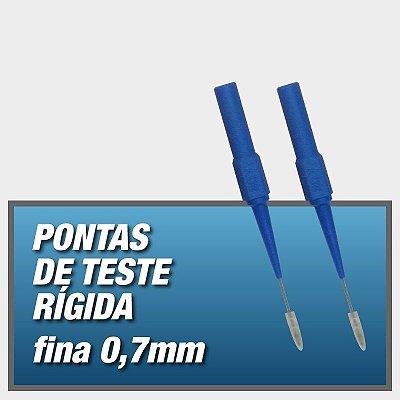 Pontas de teste Rígida - FINA 0,7mm