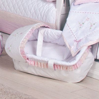 Moisés de Bebe - Transbaby Baby Leticia Rosa