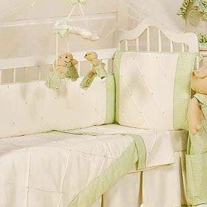 Kit Mini Berço Cannaã Baby Dream 7 Pçs 100% Algodão