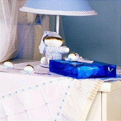 Lembrancinha Maternidade Azul Sleep - 12 Peças