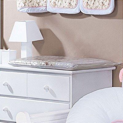 Trocador de Bebê com Espuma NICE Luxo 100% Algodão - Plastificado