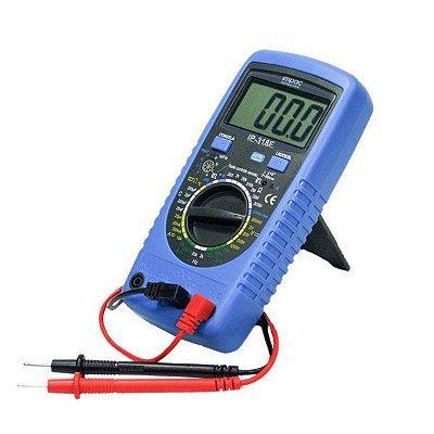 Multimetro Digital com Capacímetro IP-318F Impac