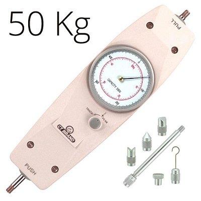 Dinamômetro Analógico Tração e Compressão 50 kg IPA-500N Impac