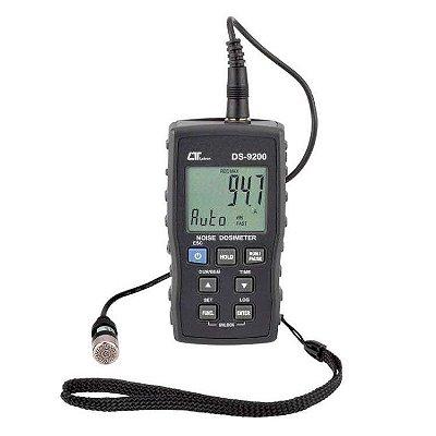 Dosímetro de Ruído Digital Datalogger DS-9200 Lutron