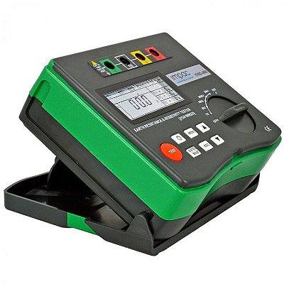 Terrômetro Digital 4 Hastes Método Wenner ITRD-400 Impac