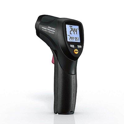 Termômetro Infravermelho com Dupla Mira Laser 550°C IP-551