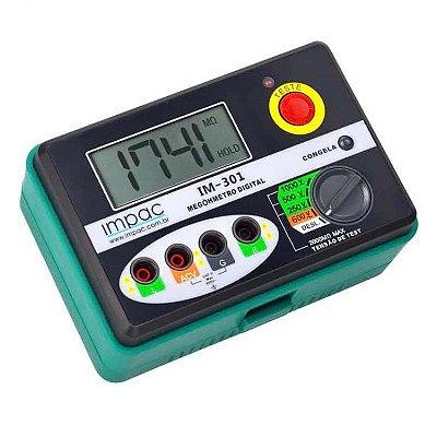 Megômetro Digital 1000V IM-301 Impac