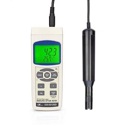 Medidor de Oxigênio Dissolvido Datalogger DO-5512 SD