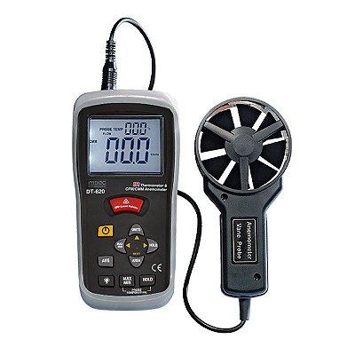 Anemômetro Térmico com Infravermelho Integrado IP-620