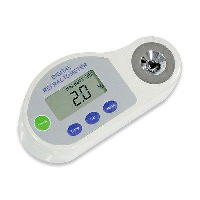 Refratômetro Digital Portátil para Salinidade IPDAS Impac