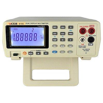 Multímetro Digital de Bancada True RMS 1000V VC-8155