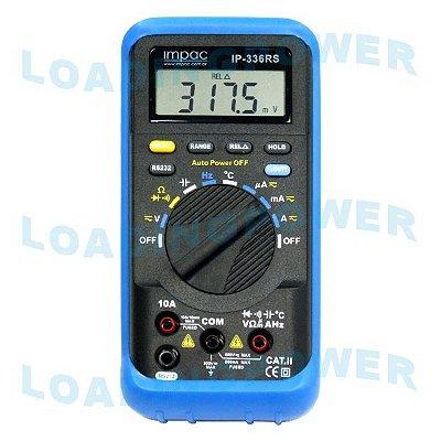 Multímetro Digital com Saída Serial RS-232 - IP-336RS