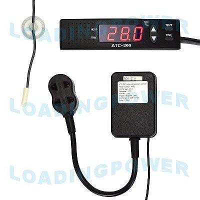 Medidor e Controlador de Temperatura Para Aquário ATC-300