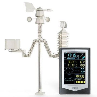Estação Meteorológica Profissional Sem Fio com Aplicativo IPWS-2040