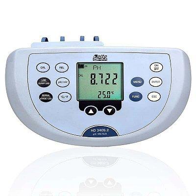 Medidor de pH de Bancada Datalogger HD-3405.2 Delta