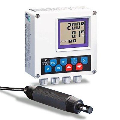Transmissor de Condutividade Saída 4 a 20 mA e Relé DO-9766 Delta Ohm
