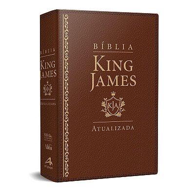 Bíblia King James Atualizada KJA (Marrom)