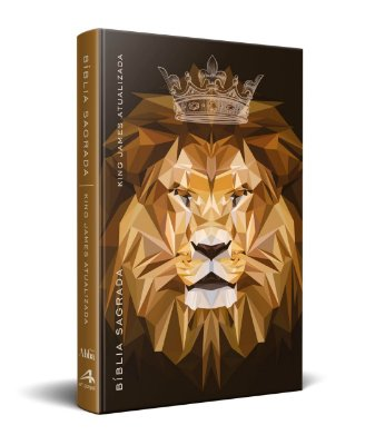 Bíblia King James Atualizada KJA Slim (Capa Ilustrada Rei dos Reis)