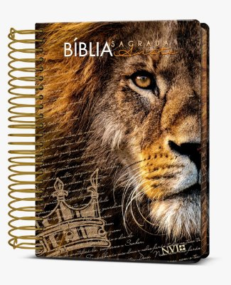 Bíblia Sagrada Anote NVI (Capa Dura Leão)