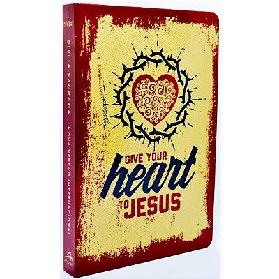 Bíblia NVI Slim (Capa Dura Heart)