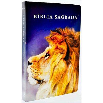 Bíblia NVI Slim (Capa Dura Leão Color)