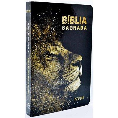Bíblia NVI Slim (Capa Dura Leão Dourado)