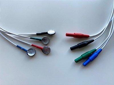 Conjunto de eletrodos para VECTO Nistagmus