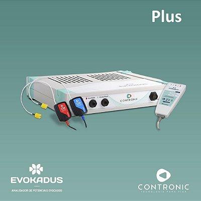 Potenciais Evocados - Evokadus Contronic com ABR + MLR + LLR + P300 + ECOchG