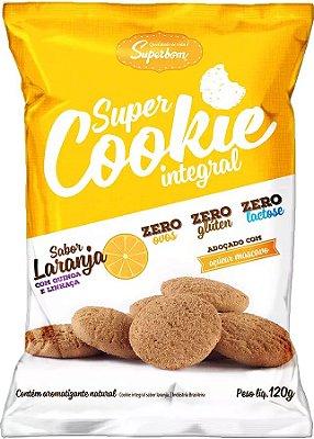 Super Cookie Integral Sabor Laranja 120G
