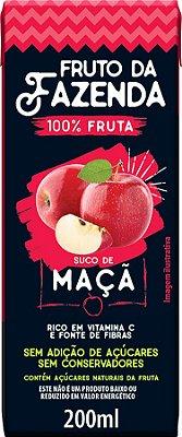Suco de Maçã Fruto da Fazenda 100% Fruta 200 ml