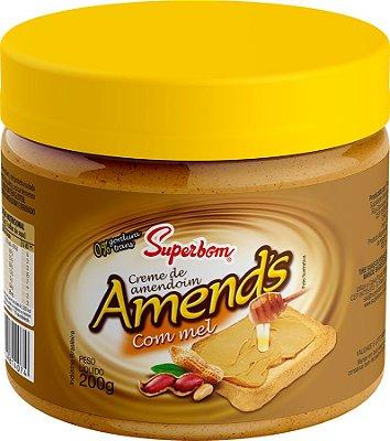 Creme de Amendoim Amend's com mel 200g