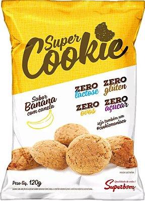 Super Cookie Zero Sabor Banana com canela 120 gr.