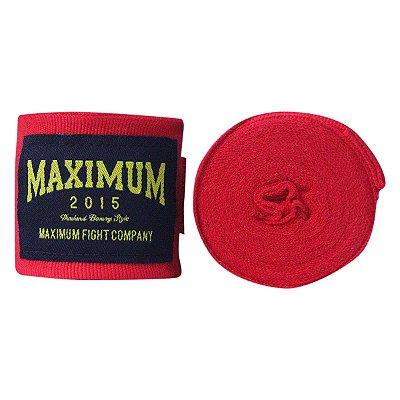 Bandagem Maximum 3 metros - Vermelho - Par