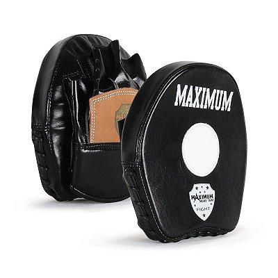 Manopla de Foco Boxe Maximum Couro WLN