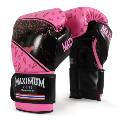Luva de Boxe e Muay Thai Maximum Panther