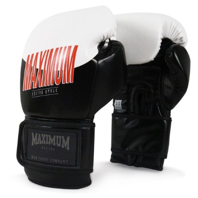 Luva de Boxe e Muay Thai Maximum Style Black