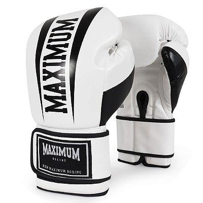 Luva de Boxe e Muay Thai Action Branca