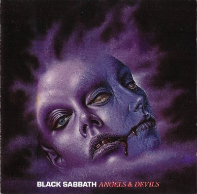 CD Black Sabbath Angels & Devils, Importado, ao vivo 1978/1980, selo Golden Stars (Itália)