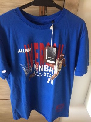Camisa Mitchell & Ness Tamanho M Allen Iverson All Star Azul