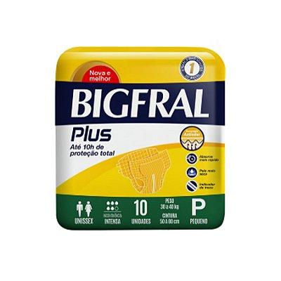 Fralda Geriátrica Bigfral Plus P 10 Unidades