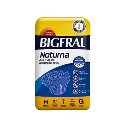 Fralda Geriátrica Bigfral Noturna G 7 Unidades