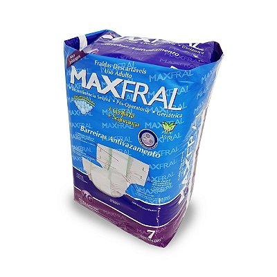 Fralda Geriátrica Maxfral Econômica XG 7 unidades