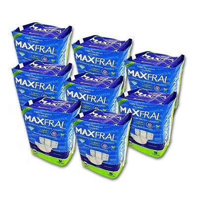 Fralda Geriátrica Maxfral Econômico M (Kit com 64 unidades)