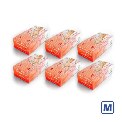 Luvas de Vinil Descarpack com pó M (Kit com 2000 Unidades)