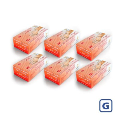 Luvas de Vinil Descarpack com pó G (Kit com 2000 Unidades)