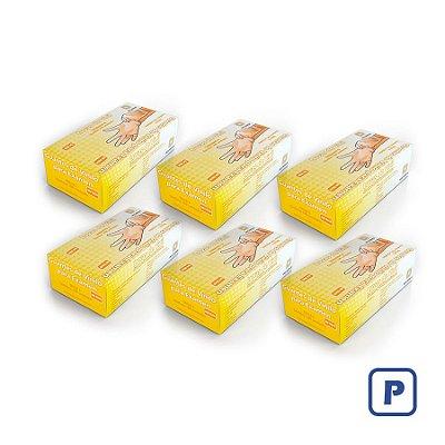 Luvas de Vinil Descarpack sem pó P (Kit com 2000 Unidades)