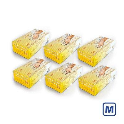 Luvas de Vinil Descarpack sem pó M (Kit com 2000 Unidades)