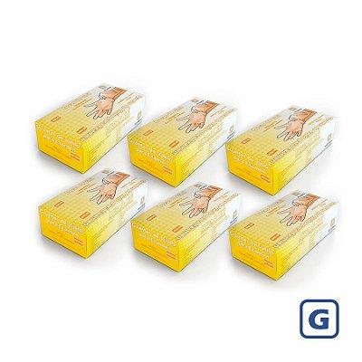 Luvas de Vinil Descarpack sem pó G (Kit com 2000 Unidades)