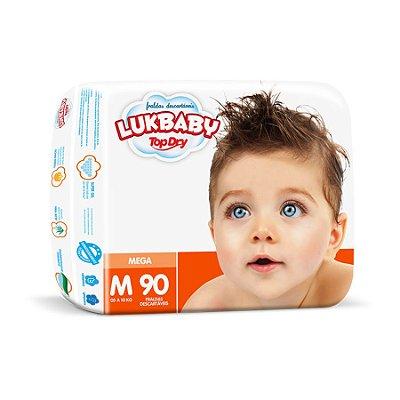 Fralda Infantil Luk Baby Jumbo M 90 unidades