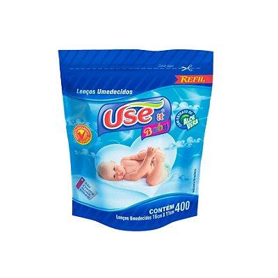 Lenço Umedecido Use It Baby - Refil com 400 unidades